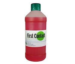 500 and 1000 ml bottle of First Contact Polymer